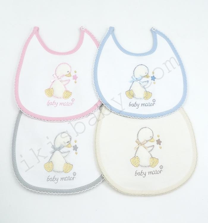 Babete para bebé bordada da Baby Maior