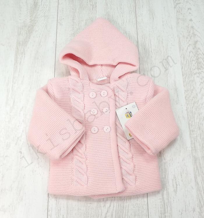 casaco rosa com capuz