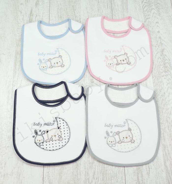 Babete para Bebé Quadrada