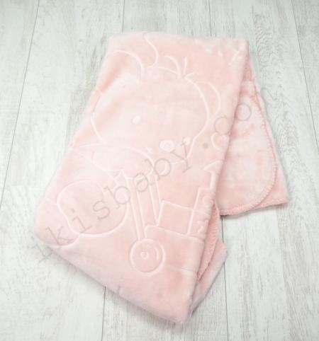 Cobertor de alcofa rosa