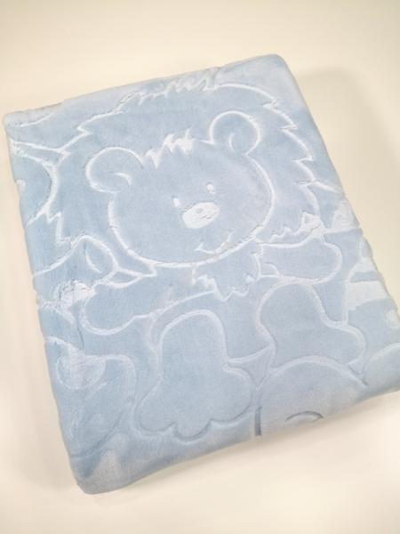 Cobertor de alcofa azul