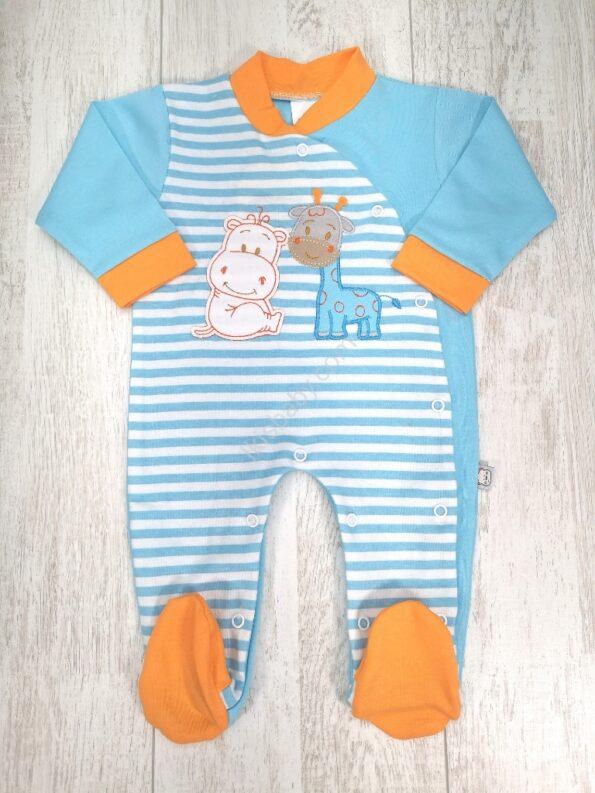Babygrow de bebé em algodão