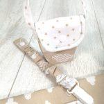 Conjunto de bolsas de maternidade pérola
