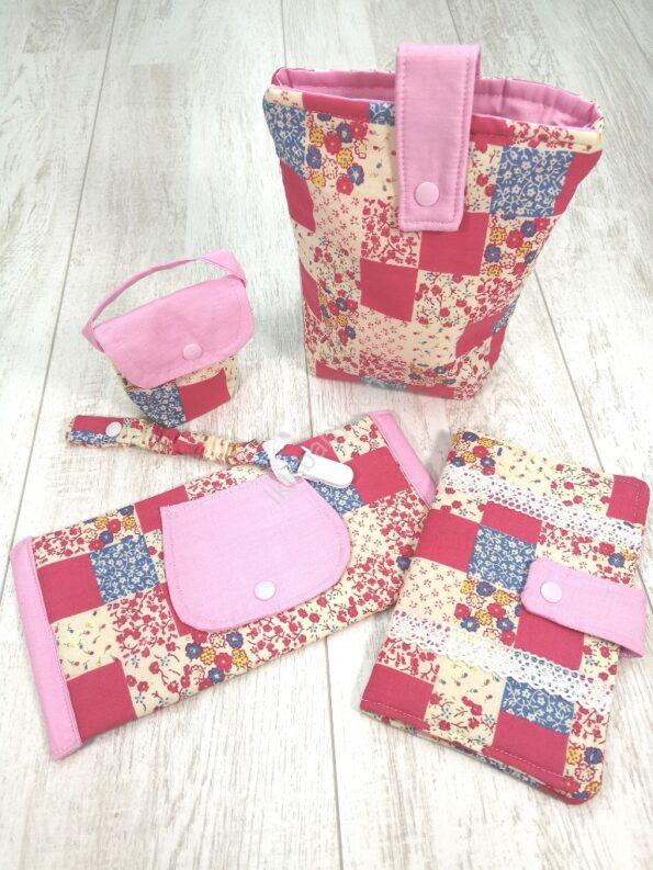 Bolsas de maternidade flores