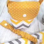 Bolsas de maternidade amarelo