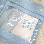 bolsas mudas de roupa azul