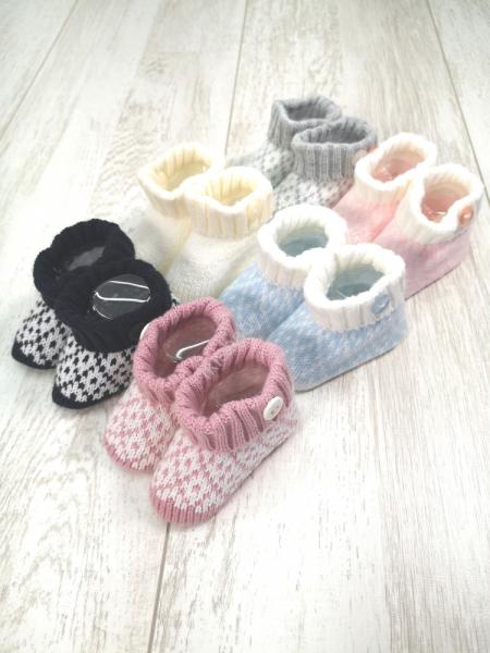 Carapins de bebé bicolor