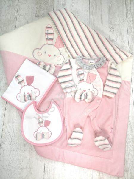 Conjunto de maternidade rosa