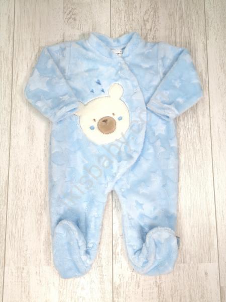 Babygrow polar urso fofo azul