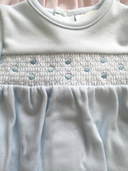 Babygrow algodão azul
