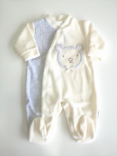 Babygrow veludo pérola boneco