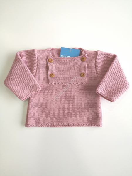 Camisola malha rosa