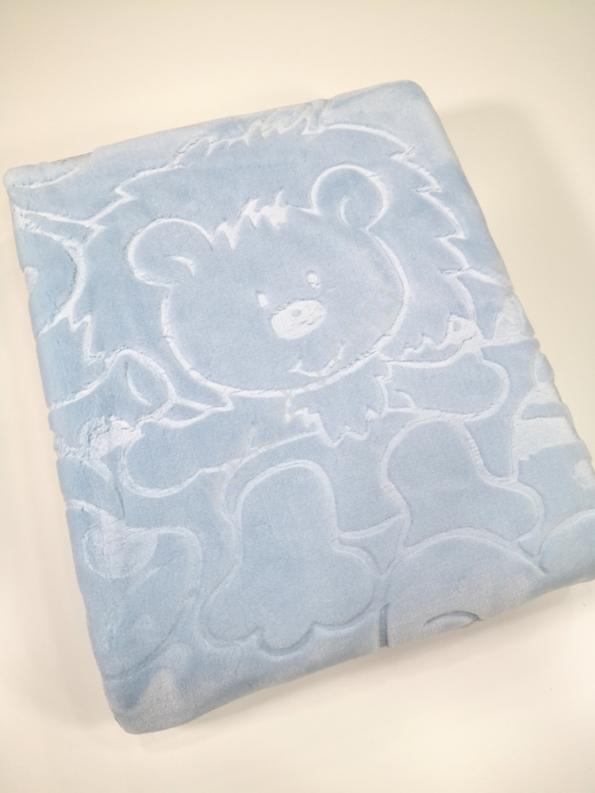 Cobertor bebé azul