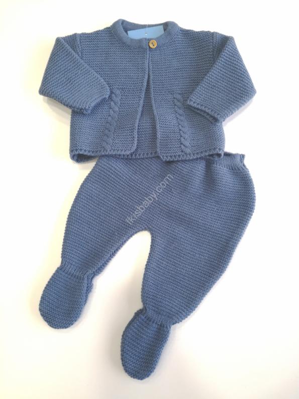 Conjunto de malha azulão