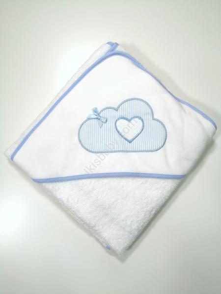 Toalha de banho com nuvem
