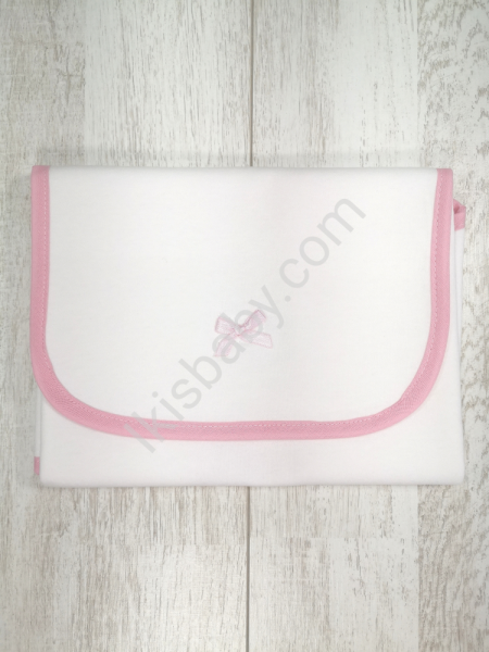Muda Fraldas liso rosa