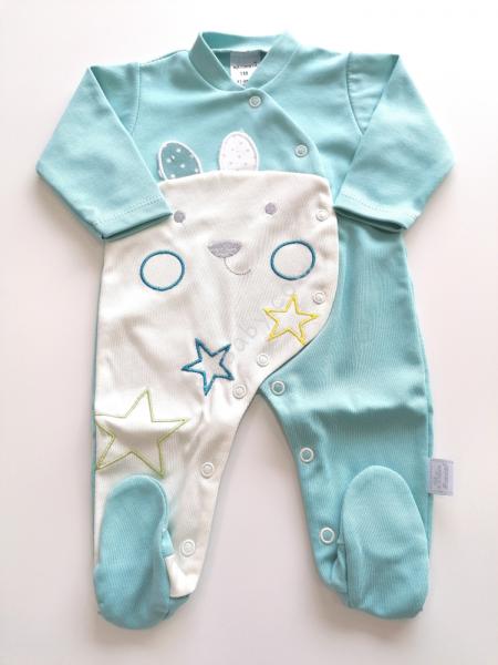 Babygrow algodão esmeralda