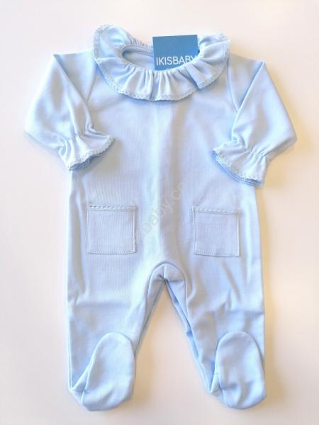 Babygrow Gola rendada azul