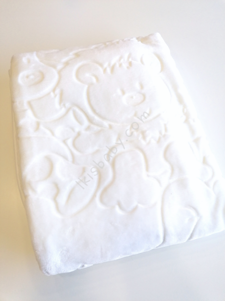 Cobertor bebé branco
