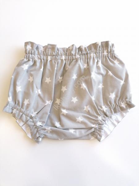 Tapa fraldas tecido cinza