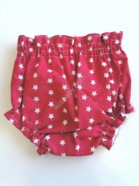 Tapa fraldas tecido vermelho