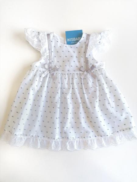 Vestido bebé menina branco
