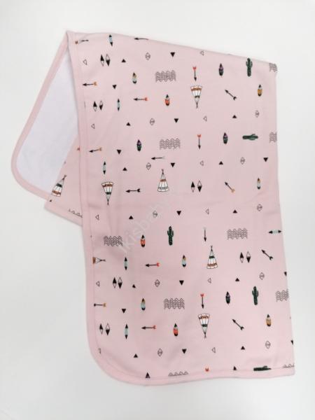 Manta dupla tenda rosa
