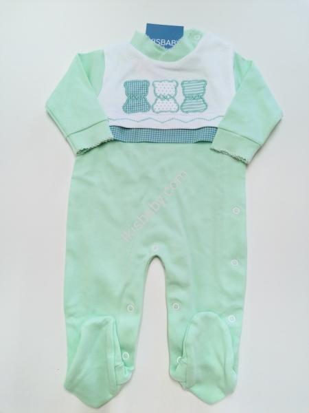 Babygrow Bebé verde Algodão