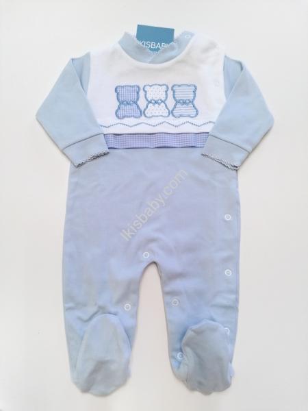 Babygrow Bebé azul Algodão