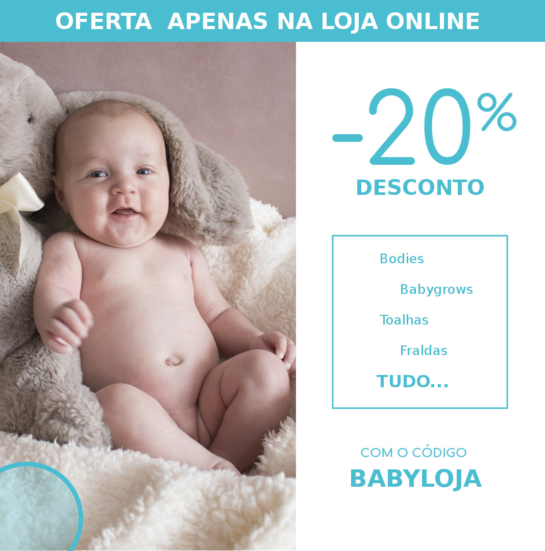descontos roupa de bebé ikisbaby