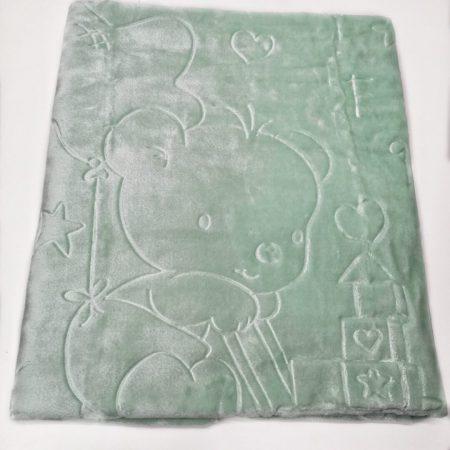 cobertor alcofa verde