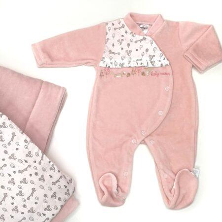 babygrow celudo rosa