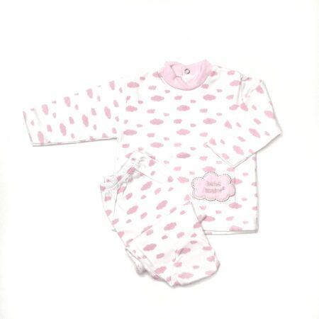 pijama bebé algodão