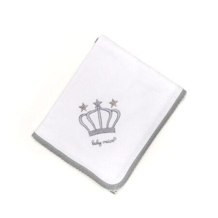 fralda algodão coroa