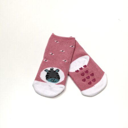 meias antiderrapantes menina burrinho