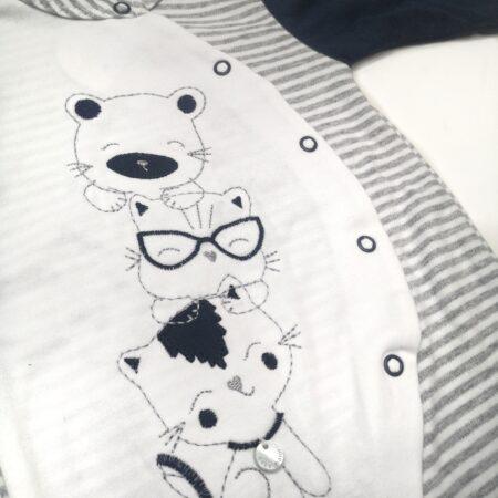 babygrow algodão pormenor