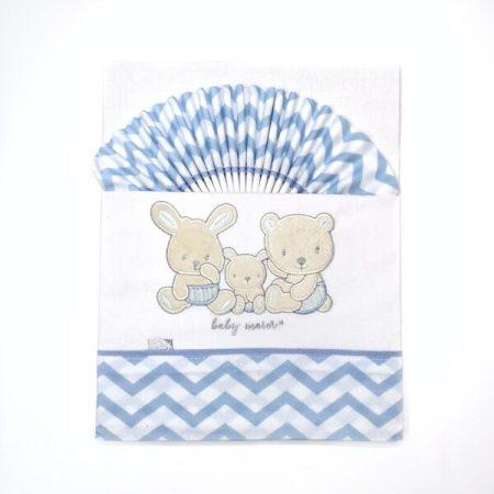 lençóis cama de bebé algodão