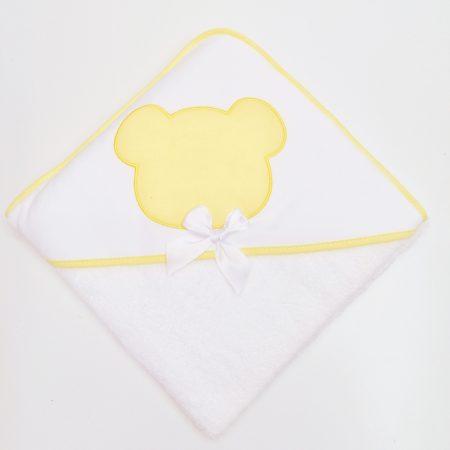 toalha urso amarelo