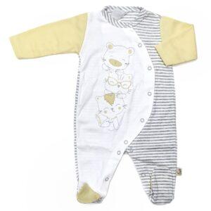 babygrow em algodão