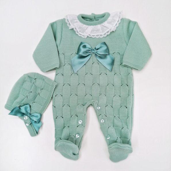 babygrow malha verde