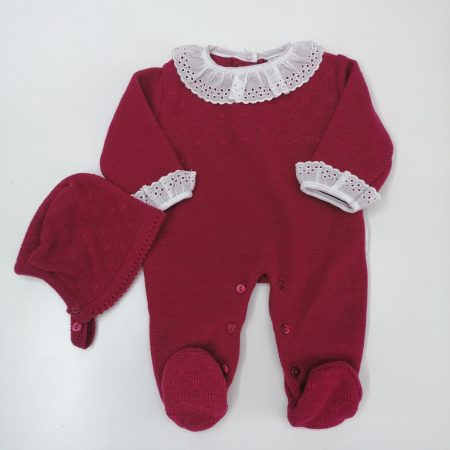 Babygrow Malha Rosa Forte