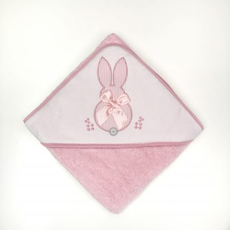 toalha para bebé menina